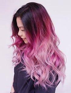 Розовые волосы #76