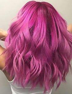 Розовые волосы #77