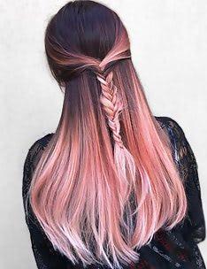 Розовые волосы #78