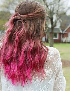 Розовые волосы #80