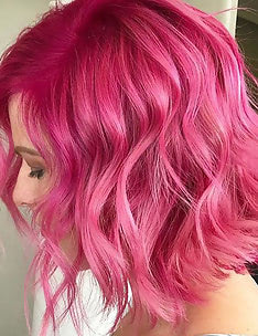 Розовые волосы #81