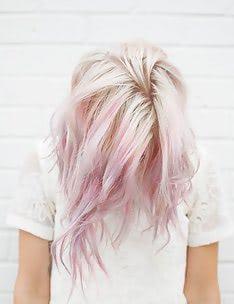 Розовые волосы #83