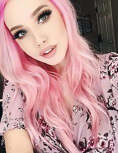 Розовые волосы #84