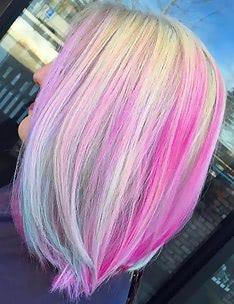 Розовые волосы #03