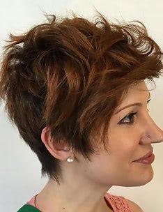 Стрижка пикси на вьющиеся волосы #09
