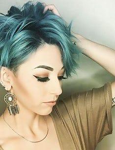 Стрижка пикси на вьющиеся волосы #83