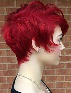 Стрижка пикси на вьющиеся волосы #84