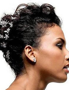Свадебные прически на короткие волосы #05