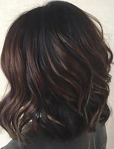 Балаяж на темные волосы #65