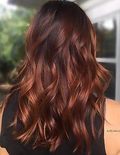 Балаяж на темные волосы #67