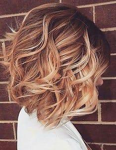 Омбре на короткие волосы #14