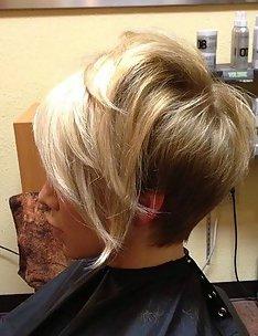 Омбре на короткие волосы #25