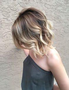 Омбре на короткие волосы #30