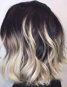 Омбре на короткие волосы #32