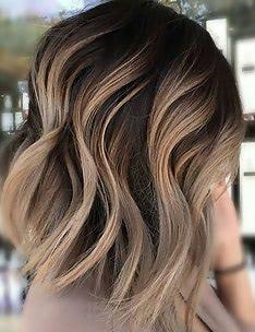 Омбре на короткие волосы #35