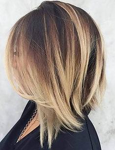 Омбре на короткие волосы #38