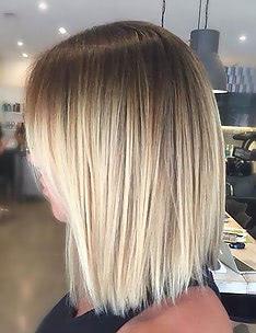 Омбре на короткие волосы #02