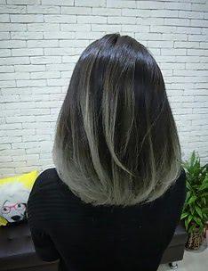 Омбре на короткие волосы #42