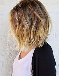 Омбре на короткие волосы #43