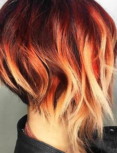 Омбре на короткие волосы #52