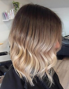 Омбре на короткие волосы #53