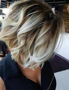 Омбре на короткие волосы #54
