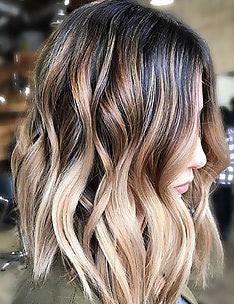 Омбре на короткие волосы #55
