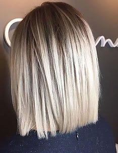 Омбре на короткие волосы #58