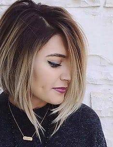 Омбре на короткие волосы #59