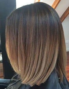 Омбре на короткие волосы #62