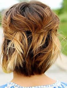 Омбре на короткие волосы #65