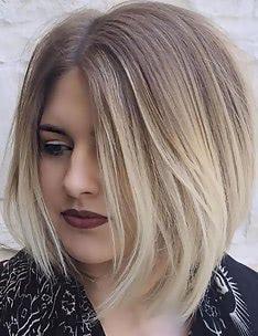 Омбре на короткие волосы #05