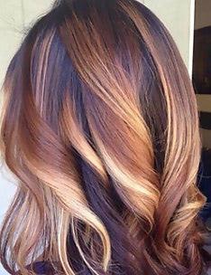 Омбре на короткие волосы #69