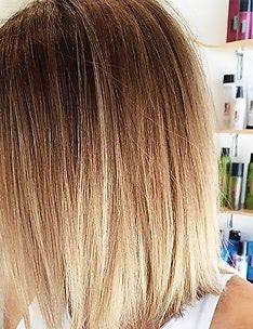 Омбре на короткие волосы #73