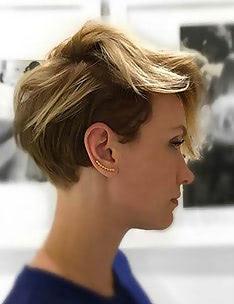Омбре на короткие волосы #79