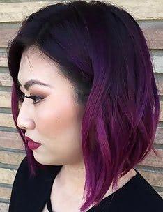 Омбре на короткие волосы #82
