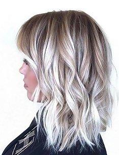 Омбре на короткие волосы #83