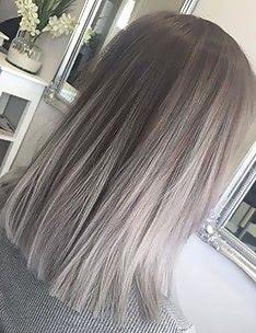 Омбре на короткие волосы #84